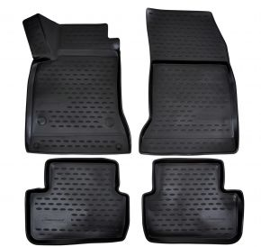 Tapis de voiture MERCEDES GLA Class 2015-up 4 pcs