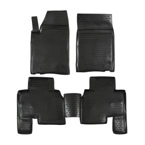Tapis de voiture SSANGYONG ACTYON SPORT 2012-up, 4 pcs