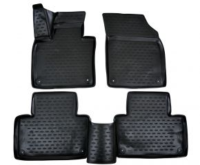 Tapis de voiture VOLVO XC90 2015-up 4pcs