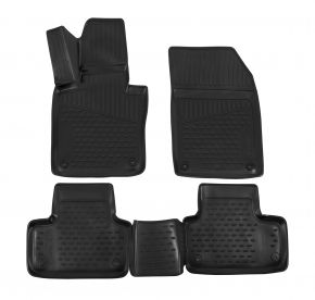 Tapis de voiture VOLVO XC60 2017-up, 4 pcs