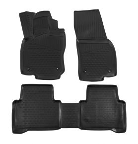 Tapis de voiture VOLKSWAGEN TOURAN 2015-up, 4 pcs