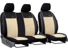 Housse de siège de voiture sur mesure Exclusive VOLKSWAGEN T6 2+1 (2015→)