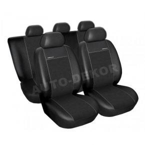 Housse de siège universelle PREMIUM noir, taille B