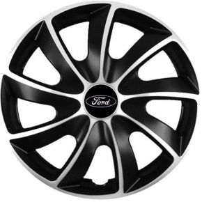 "Enjoliveurs pour FORD 16"", QUAD BICOLOR 4 pcs"