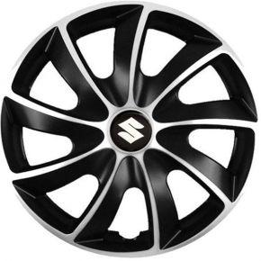 """Puklice pre Suzuki 15"""", Quad bicolor, 4 ks"""