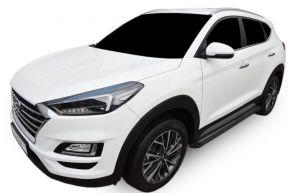 Marche pieds pour voiture Hyundai Tucson 2015-up BLACK