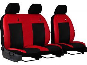Housse de siège de voiture sur mesure Cuir ROAD CITROEN JUMPER III 2+1 (2014-2019)