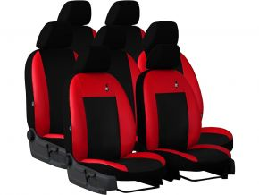 Housse de siège de voiture sur mesure Cuir ROAD SKODA KODIAQ 7p. (2016-2020)
