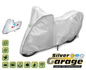 Toile de protection pour moto SILVER GARAGE 215-240 cm