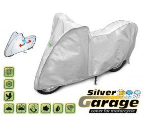 Toile de protection pour moto SILVER GARAGE 190-215 cm