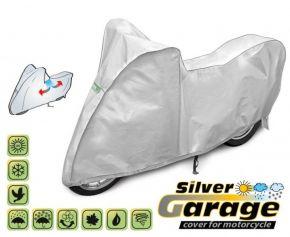 Toile de protection pour moto SILVER GARAGE 240-265 cm