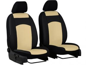 Housse de siège de voiture sur mesure Cuir STANDARD PEUGEOT BOXER II 1+1 (2006-2014)