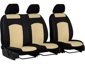 Housse de siège de voiture sur mesure Cuir STANDARD FIAT TALENTO 2+1 (2014-2019)