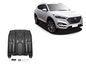 Protections moteur et boîte de vitesses Hyundai Tucson TL 2WD/4WD 1,6GDI;2WD/4WD 2,0MPI; 2WD/4WD 2,0CRDI; 2WD/4WD 1,6T (177hp) 2015-