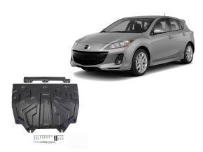 Protections moteur et boîte de vitesses Mazda 3 1,5; 1,6; 2,0 2013-