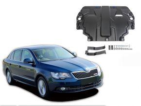 Protections moteur et boîte de vitesses Skoda  Superb 1,4; 1,8; 2,0; 3,6 2008-2014