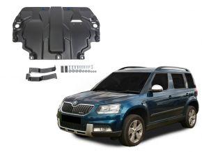 Protections moteur et boîte de vitesses Skoda  Yeti s'adapte à tous les moteurs 2009-2017