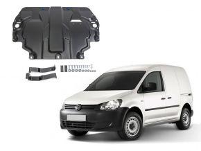 Protections moteur et boîte de vitesses Volkswagen  Caddy IV s'adapte à tous les moteurs (w/o heating system) 2015-