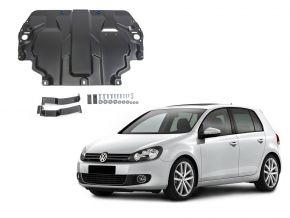 Protections moteur et boîte de vitesses Volkswagen  Golf VI s'adapte à tous les moteurs 2009-2013