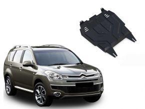 Protections moteur et boîte de vitesses Citroen C-Crosser 2,2; 2,4 2007-2013