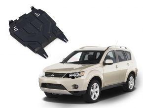 Protections moteur et boîte de vitesses Mitsubishi Outlander  2,0; 2,4 2007-2012