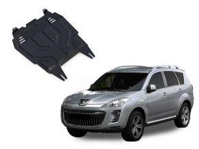 Protections moteur et boîte de vitesses Peugeot  4007 2,2; 2,4 2007-2012