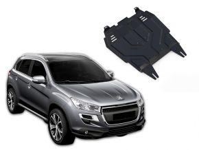Protections moteur et boîte de vitesses Peugeot  4008 s'adapte à tous les moteurs 2012