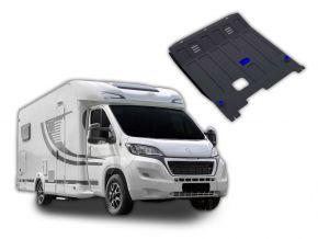 Protections moteur et boîte de vitesses Peugeot  Boxer Caravan s'adapte à tous les moteurs 2014