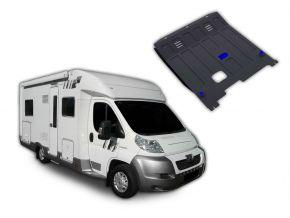 Protections moteur et boîte de vitesses Peugeot  Boxer Caravan s'adapte à tous les moteurs 2006-2014