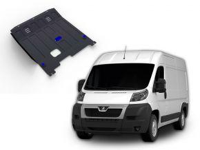 Protections moteur et boîte de vitesses Peugeot  Boxer s'adapte à tous les moteurs 2006-