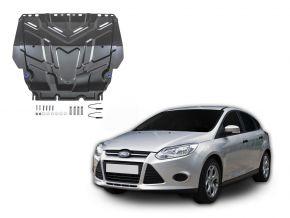 Protections moteur et boîte de vitesses Ford  Focus III s'adapte à tous les moteurs 2011-2018