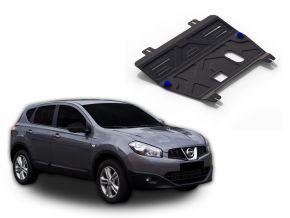 Protections moteur et boîte de vitesses Nissan  Qashqai 1,6; 2,0 2006-2014