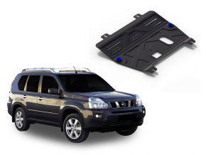 Protections moteur et boîte de vitesses Nissan  X-Trail T31 2,0; 2,5 2007-2013