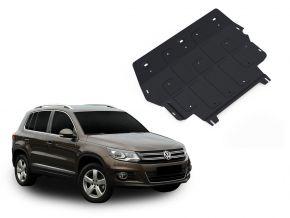Protections moteur et boîte de vitesses Volkswagen Tiguan 2,0TSI; 2,0TDI 2008-2011; 2011-2016