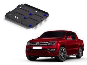 Couvert moteur et radiateur en acier pour Volkswagen Amarok 2,0TDI; 3,0TDI 2010-2016 , 2016-