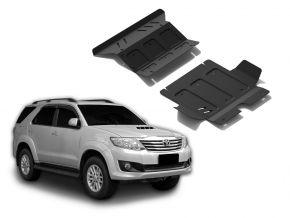 Couvert moteur et radiateur en acier pour Toyota Fortuner 2,5TD; 3,0TD; 2,7  2007-2015