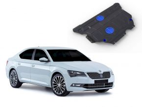Protections moteur et boîte de vitesses Skoda Superb FWD/4WD 1,4TSI; FWD/4WD 1,8TSI; FWD/4WD 2,0TSI 2015-