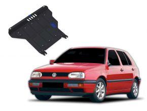 Protections moteur et boîte de vitesses Volkswagen Golf III  MT 1,4; 1,6; 1,8; 2,0; 1,9TD 1991-1997