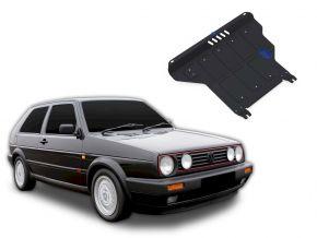 Protections moteur et boîte de vitesses Volkswagen Golf II MT s'adapte à tous les moteurs 1986-1992