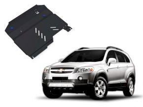 Protections moteur et boîte de vitesses Chevrolet Captiva 2,4; 3,2 2006-2011
