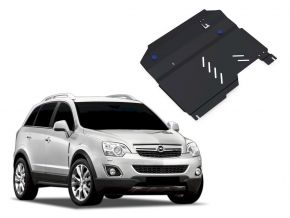 Protections moteur et boîte de vitesses Opel Antara 2,4; 3,2 2006-2011