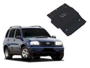 Protections moteur et boîte de vitesses Chevrolet Tracker s'adapte à tous les moteurs 1998-2004