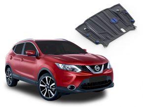 Protections moteur et boîte de vitesses Nissan Qashqai CVT 2,0; 1,2; 1,6D 2014-2019