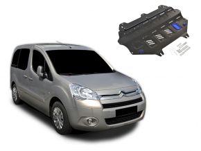Protections moteur et boîte de vitesses Citroen Berlingo s'adapte à tous les moteurs 2008-