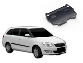 Protections moteur et boîte de vitesses Skoda Fabia 1,2; 1,4; 1,6 2007-2015