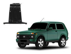 Protections moteur et boîte de vitesses Lada 4x4 / Niva / Taiga / Urban s'adapte à tous les moteurs 2001-2015; 2015-