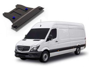 Couvert de boîte de vitesses en acier pour MERCEDES BENZ SPRINTER 2WD 311CDI; 2WD 315CDI; 2WD 515CDI uniquement pour le moteur spécifié! 2013-