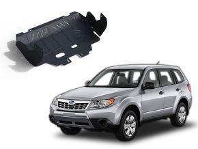 Couvert moteur et radiateur en acier pour Subaru Forester CVT 2,0; 2,5 2013-2016; 2016-2018