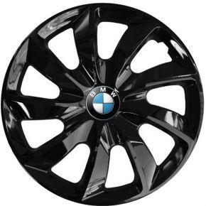 """Enjoliveurs pour BMW 15"""", STIG NOIRS LAQUÉS 4 pcs"""