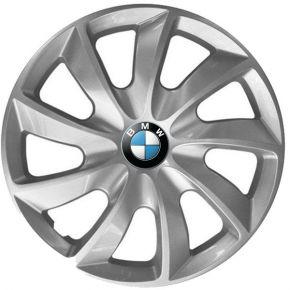 """Enjoliveurs pour BMW 15"""", STIG GRIS LAQUÉS 4 pcs"""